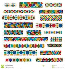 Washi Tape Designs by Moroccan Patterns Washi Tape Stock Photo Image 70837646