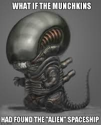 Funny Alien Memes - that s one way to make a scary monster funny imgflip