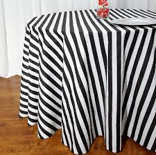 Fitted Round Tablecloth Stripe Round Tablecloths
