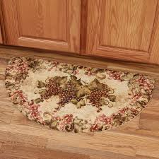 floor half moon kitchen rug set for kitchen sink rug with kitchen