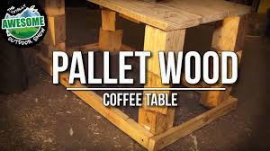 Build A Wooden Garden Table by How To Build A Free Garden Table From Recycled Pallet Wood Ta
