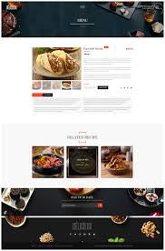 delicieux exquisite restaurant psd template by creative wp
