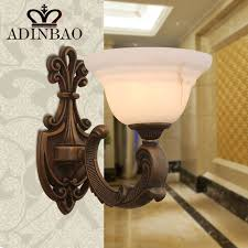 Copper Wall Sconce Lights Vintage Copper Wall Sconce Hallway Wall Lamp With Transparent