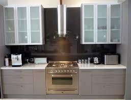 white oak shaker cabinets white oak wood orange zest shaker door frosted glass kitchen