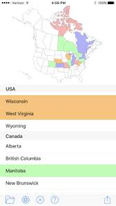 visited states map visited states map on the app store