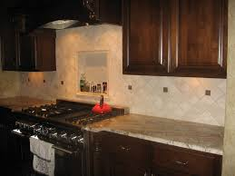Kitchen Tile Backsplash Ideas With Granite Countertops Granite Countertop Height Of Upper Cabinets From The Floor