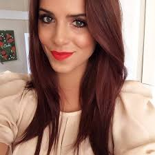 dying red hair light brown brown hair with hints of red pinteres