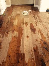 re scraping an already scraped wood floor part 1 sanding