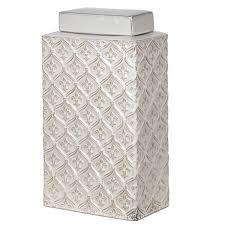 Fleur De Lis Home Decor Bathroom Privilege Fleur De Lis Ceramic Decorative Jar U0026 Reviews Wayfair