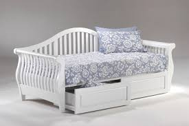 Daybed With Storage Drawers Daybed With Trundle And Drawers Wooden Global