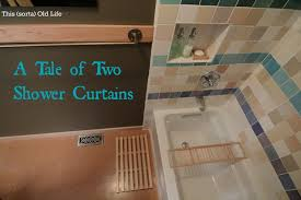 Two Sided Shower Curtain Rod How To Find The Shower Curtain