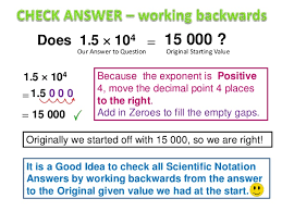 working with scientific notation scientific notation