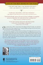 the wright brothers book by david mccullough official