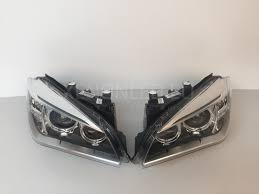 bmw headlights x1 series e84 facelift lci 2012 2015 ahl xenon headlights