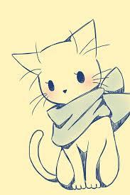 best 25 cat cartoon drawing ideas on pinterest kitty drawing