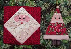 patchwork ornaments 1