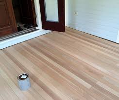 Choosing Laminate Flooring Color Front Porch U2013 Part 3 Of 3 Where We Sand And Stain The Floor But