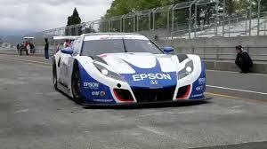 cars honda racing hsv 010 honda hsv 010 epson honda u0027s all new super gt car youtube