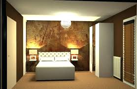 exemple de peinture de chambre modele de peinture pour chambre adulte la chambre coucher jaune en