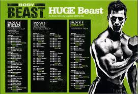 Beast Meal Plan Spreadsheet Beast Workout S Beast Review