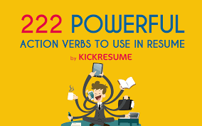 Keywords To Use In Resume Resume Cheat Sheet 222 Action Verbs To Use In Your New Resume