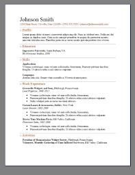 Elegant Resume Templates Primer U0027s 6 Free Resume Templates Open Resume Templates