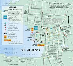 st map map of st s antigua from caribbean on line