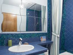 blue bathroom tile ideas ceramic tile bathroom countertops hgtv