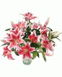 bouquet of lilies stargazer lilies amazing aroma