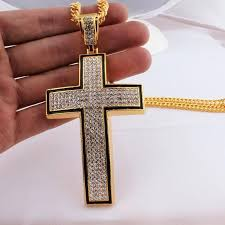 wholesale cross necklace pendants images Large gold pendants termatech co jpg