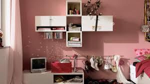 Teen Girls Bedroom Paint Colors Pink Teenage Bedroom Paint Colors With White Shelves And Pink