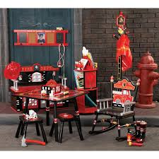 Firefighter Crib Bedding Firefighter Box Bench By Levels Of Discovery