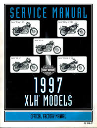 1997 harley davidson xlh models official factory service manual