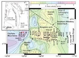 Earthquake Map Seattle by Amplification Of Seismic Waves By The Seattle Basin Washington