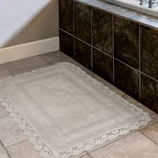 Cotton Bathroom Rugs Home Crochet 100 Cotton Bath Rug Reviews Wayfair
