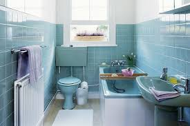 blue bathroom tiles ideas blue tile bathroom decorating retro bathroom makeovers tsc
