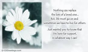 condolences card a supportive condolence card free sympathy condolences ecards