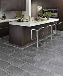 Kitchen Vinyl Flooring by 25 Best Grey Kitchen Floor Ideas On Pinterest Grey Flooring