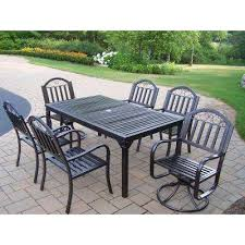 Wrought Iron Patio Table Set by Cast Iron Patio Dining Furniture Patio Furniture The Home Depot