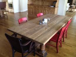 White And Oak Dining Table Traditional Furnishings Antique Dining Table Sets Antique Oak