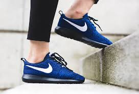 obsidian blue color shades of blue cover this nike flyknit roshe run nm u2022 kicksonfire com