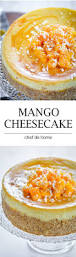 mango cheesecake recipe chefdehome com