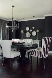 Animal Print Dining Room Chairs Luxe Dining Room Shining On Design