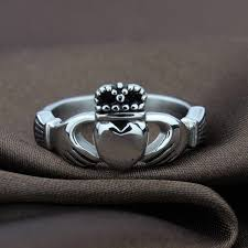 crown wedding rings claddagh ring ireland vintage heart crown wedding rings for women