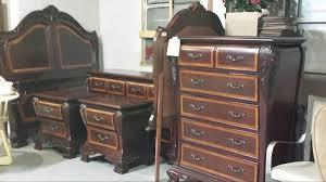 river u0027s edge cherry bedroom set queen set complete furniture