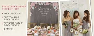 Custom Backdrops Bridal Shower Photo Backdrops Kate Aspen