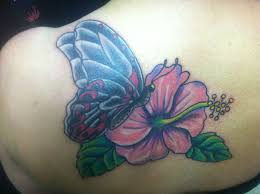 small cover up with butterfly and orchid bayside