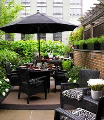 Small Patio Table by Furniture Attractive Outdoor Patio Furniture Ideas With Umbrella