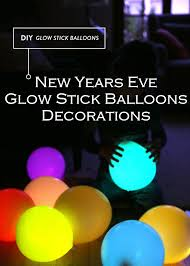 New Years Eve Balloon Decorations by New Years Eve Glow Stick Balloons Decorations The Homestead Survival