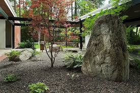 japanese bed frame landscape traditional with asian garden